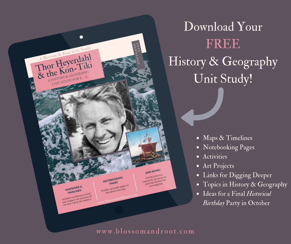 Thor Heyerdahl Unit Study for Homeschool