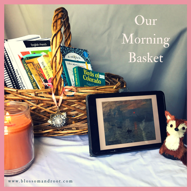 our morning basket