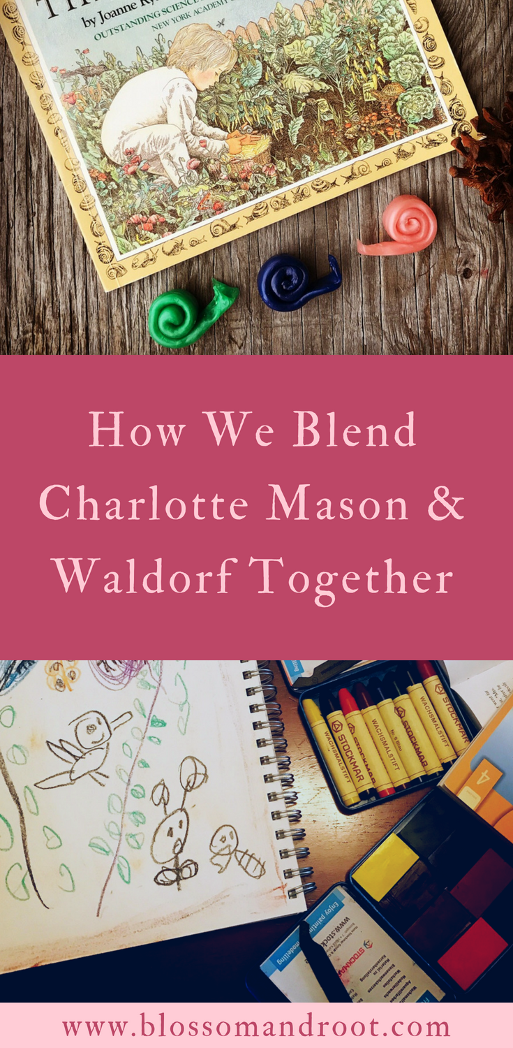 How we combine elements of Waldorf and Charlotte mason in our eclectic, nature-based homeschool