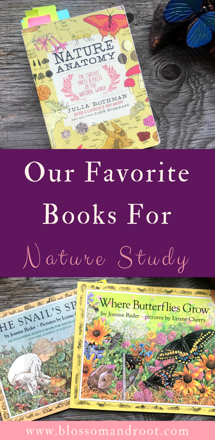 In our Charlotte Mason inspired homeschool, we love to use books as nature lore, inspiration for nature journaling, and to look up the many wonderful things we find outdoors. Here are some of our favorite books for nature study!