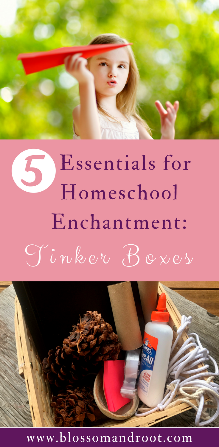 Using tinker boxes and strewing to enhance your homeschool / STEM / STEAM / Homeschool Science