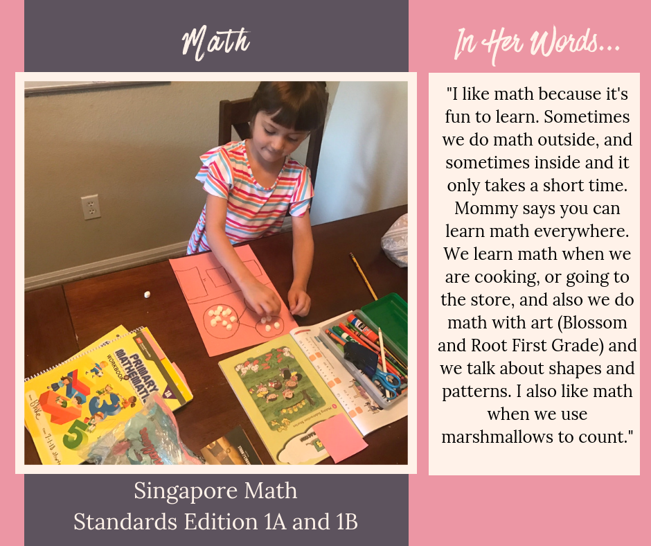 A Day of Nature-Based Homeschool From a First Grader's Point