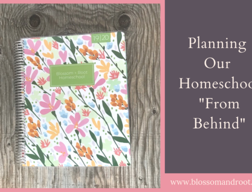 relaxed homeschool planning